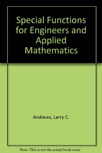 9780070018440: Special Functions for Engineers and Applied Mathematics