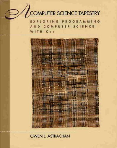 9780070020368: A Computer Science Tapestry: Exploring Programming and Computer Science