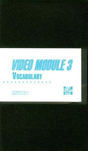 9780070020795: Video Module 3:  Vocabulary [VHS]