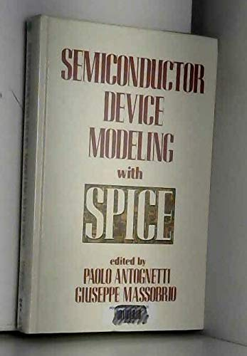 9780070021075: Semiconductor Device Modelling with SPICE