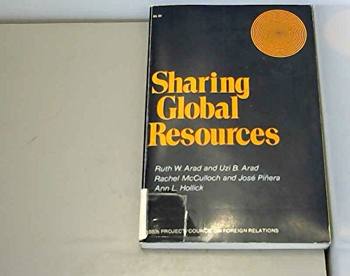 9780070021501: Sharing Global Resources (1980s project/Council on Foreign Relations)