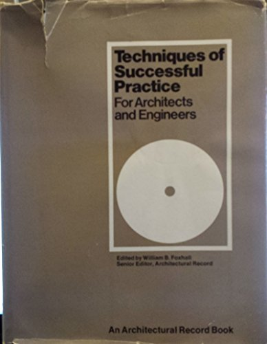 9780070022294: Techniques of Successful Architectural Practice