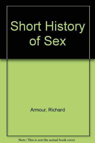 9780070022652: Short History of Sex (McGraw-Hill paperbacks)