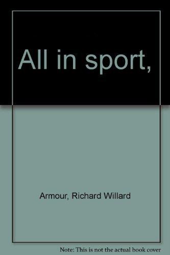9780070023024: All in sport,