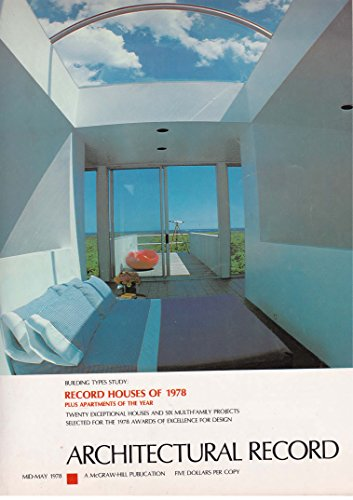 Record Houses of 1978: Architectural Record Magazine