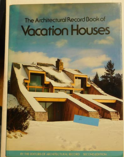 9780070023376: The Architectural Record Book of Vacation Houses