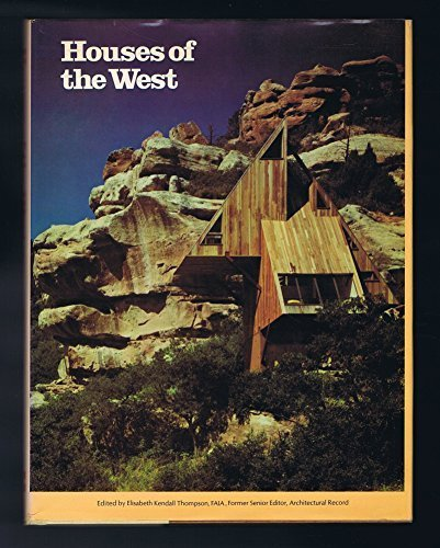 9780070023390: Houses of the West (An Architectural Record Book)
