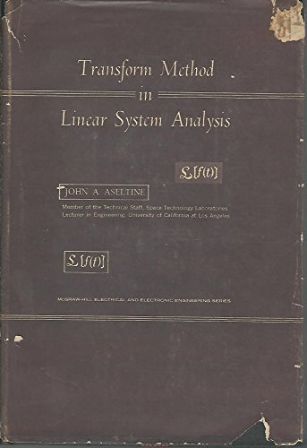 9780070023895: Transform Method in Linear System Analysis (Electrical & Electronic Engineering)