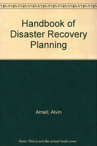 9780070023949: Handbook of Effective Disaster/Recovery Planning: A Seminar-Workshop Approach