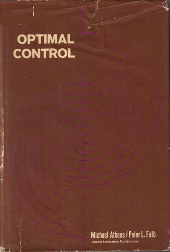 9780070024137: Optimal Control. An Introduction to the Theory and Its Applications
