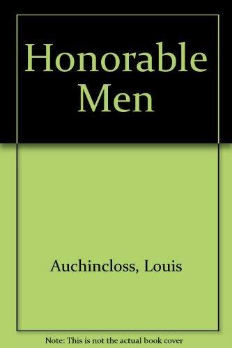 9780070024342: Honorable Men