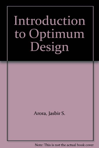 9780070024618: Introduction to Optimum Design