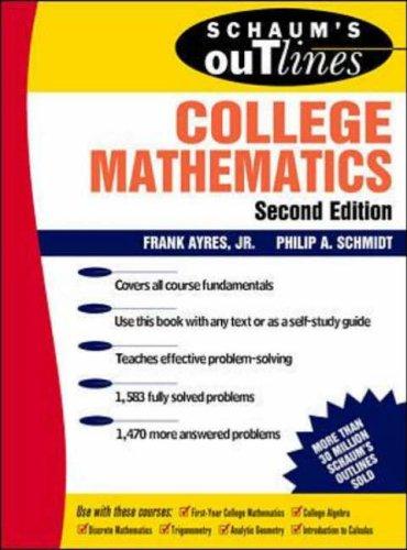 9780070026643: Schaum's Outline of College Mathematics