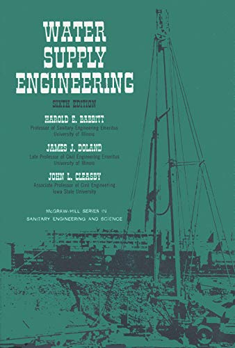 9780070027176: Water Supply Engineering (Civil Engineering)