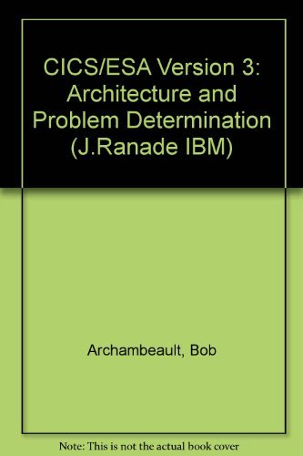 9780070027442: Cics/Esa Version 3: Architecture and Problem Determination (J Ranade Ibm Series)