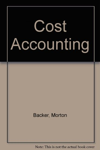 9780070028364: Cost Accounting