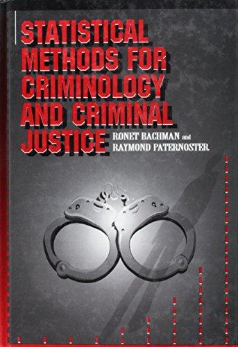 9780070030008: Statistical Methods for Criminology and Criminal Justice