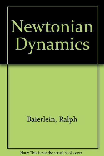 9780070030176: Solutions Manual to Accompany Newtonian Dynamics
