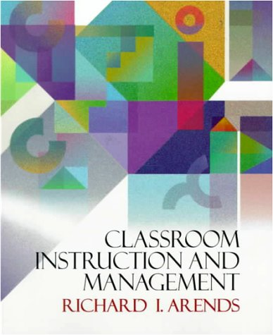 9780070030824: Classroom Instruction and Management