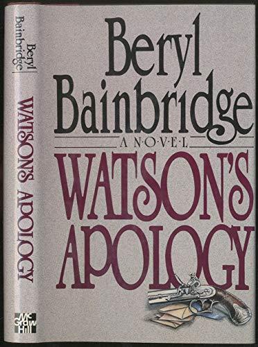 9780070032545: Watson's Apology