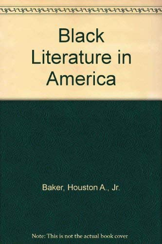 9780070033658: Black Literature in America