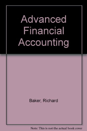 9780070033757: Advanced Financial Accounting