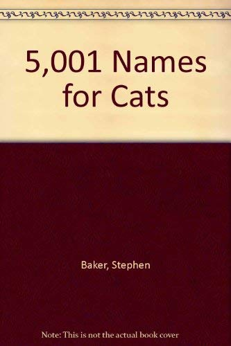 9780070034556: 5,001 Names for Cats (McGraw-Hill paperbacks)