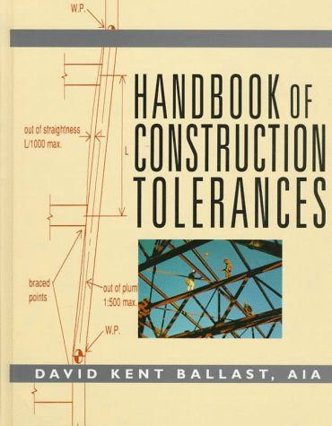 9780070035539: Handbook of Construction Tolerances
