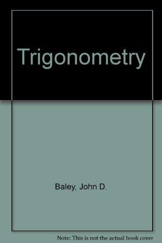 9780070035676: Trigonometry