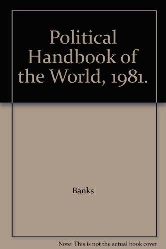 9780070036291: Political Handbook of the World, 1981.