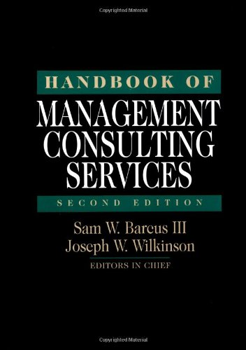 9780070036864: Handbook of Management Consulting Services