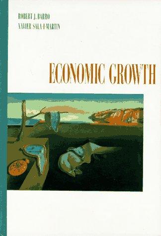 9780070036970: Economic Growth (Mcgraw-Hill Advanced Series in Economics)