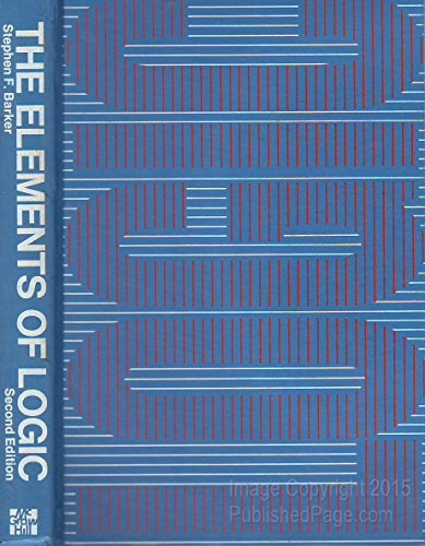 9780070037182: The elements of logic