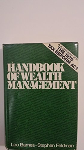 9780070037656: Handbook of Wealth Management