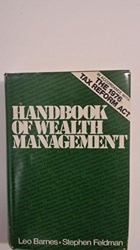 9780070037656: Handbook of Wealth Management