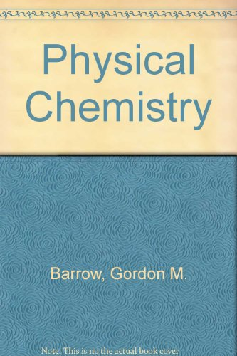 9780070038233: Physical Chemistry