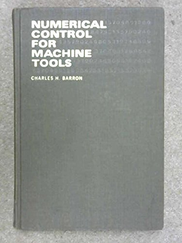 9780070038240: Numerical Control for Machine Tools