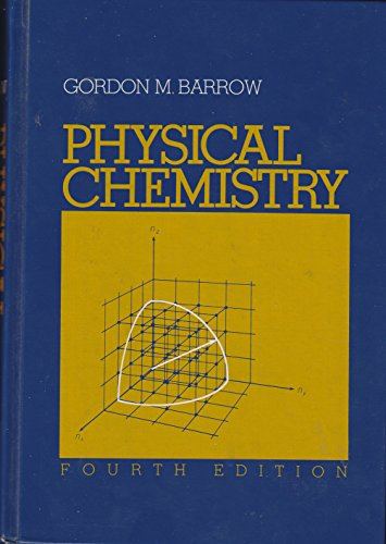 9780070038257: Physical Chemistry