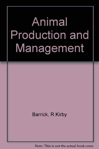 9780070038523: Animal Production and Management