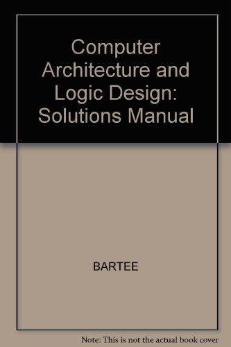 9780070039193: Computer Architecture and Logic Design