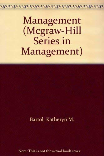 9780070039261: Management (Mcgraw-Hill Series in Management)