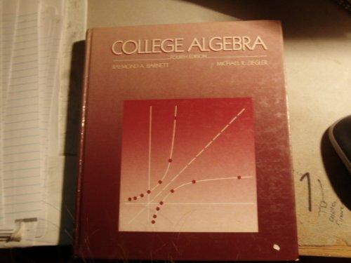 9780070039308: College Algebra