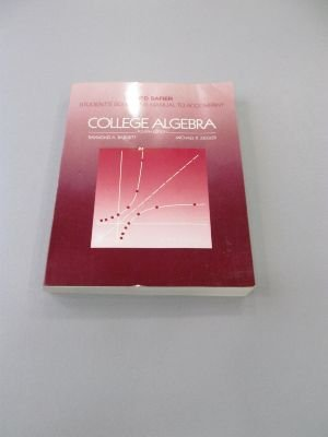 9780070039339: Students Solutions Manual (College Algebra)