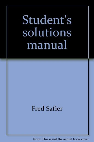 9780070039414: Student's solutions manual: To accompany Barnett and Ziegler Precalculus : functions and graphs, 2nd ed