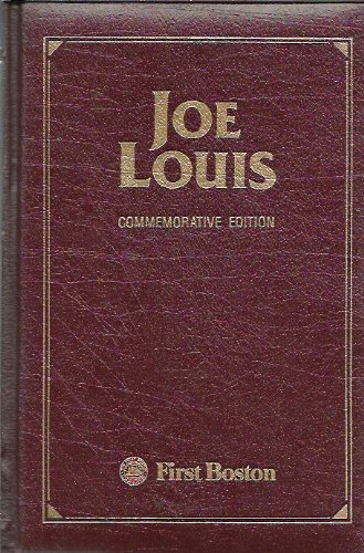 9780070039568: Joe Louis: 50 Years an American Hero