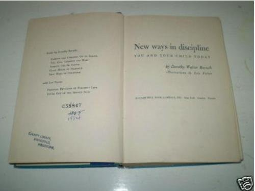 9780070040403: New Ways in Discipline