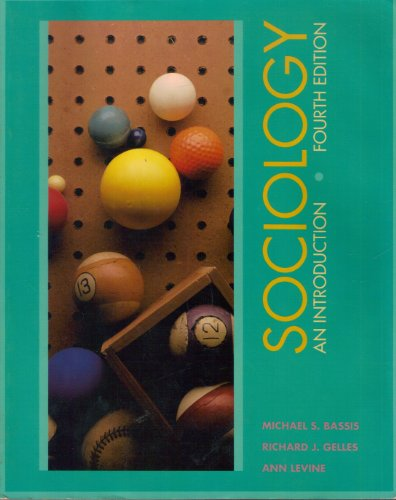9780070040519: Sociology: An Introduction