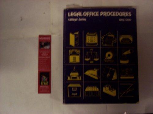 9780070040564: Legal office procedures