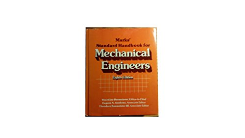 9780070041233: Standard Handbook for Mechanical Engineers