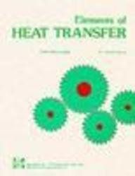 9780070041554: Elements of Heat Transfer: Solutions Manual